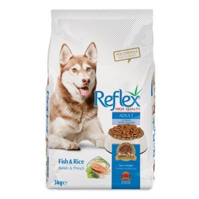 Reflex - Reflex Balıklı ve Pirinçli Yetişkin Köpek Maması 3 Kg