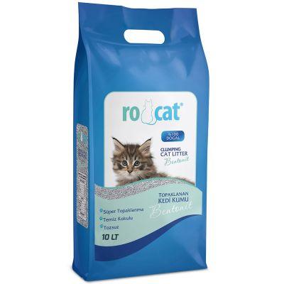 Diğer - Ro Cat Bebek Pudrası Kokulu İnce Taneli Kedi Kumu 10 LT