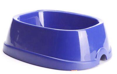 Savic - Savic Brunch 2 Köpek Plastik Mama ve Su Kabı 0.5 ml Lacivert