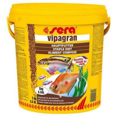 Sera - Sera Vipagran Granül Balık Yemi 10 lt - 3 Kg