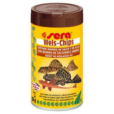 Sera - Sera Wels-Chips Balık Yemi 100 ml
