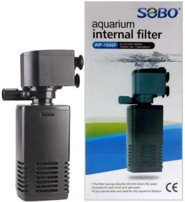 Diğer - Sobo WP 1000F Akvaryumlar İçin İç Filtre 15 Watt