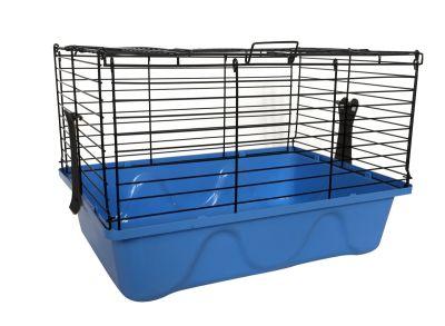 Diğer - Tavşan Kafesi 45x32x31 Mavi
