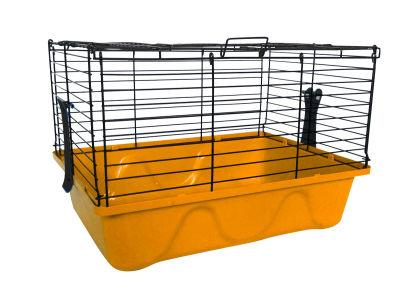 Diğer - Tavşan Kafesi 45x32x31 Turuncu