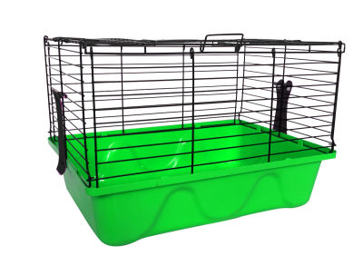 Diğer - Tavşan Kafesi 45x32x31 Yeşil