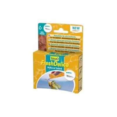 Tetra - Tetra Fresh Delica Krill Jel Balık Yemi 48 gr