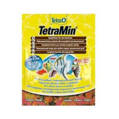 Tetra - Tetra Min Flakes Balık Yemi 12 Gr