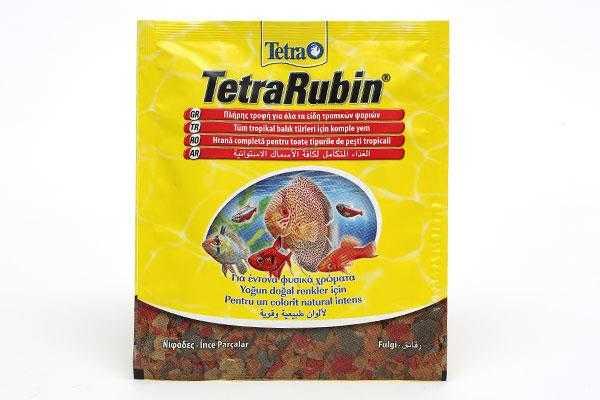 Tetra Rubin Flakes Balik Yemi 12 Gr