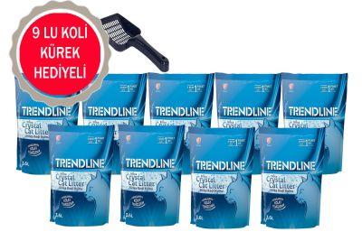 Trendline - Trendline Kristal Kedi Kumu 3.6 LT - 9 ADET -