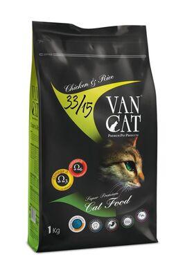 Vancat - Van Cat Tavuklu Yetişkin Kuru Kedi Maması 1 kg