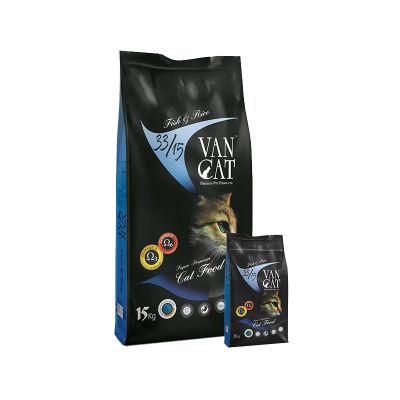 Vancat - VanCat Balıklı Pirinçli Kedi Maması Yetişkin 15 KG