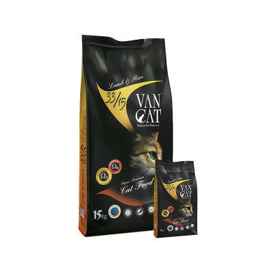 Vancat - VanCat Kuzu Pirinçli Yetişkin Kedi Maması 15 KG