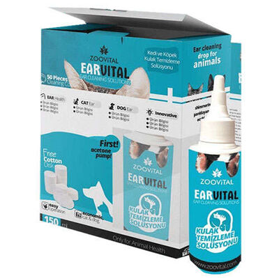 ZooVital - Zoo Vital Ear Vital Kulak Temizleme Solüsyonu 150 ml